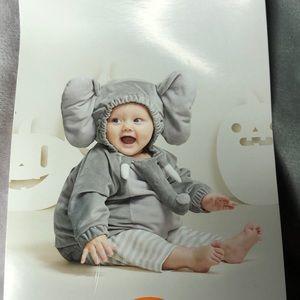 Other - Infant Elephant costume set 0-6 months